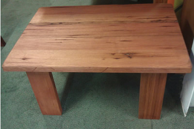Little River Coffee Table in solid hardwood or pine timber.