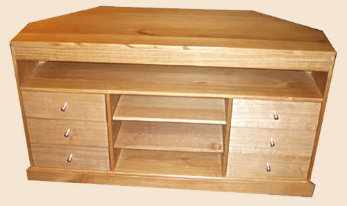TV Units in solid hardwood or pine timber.