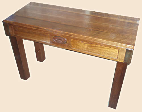 Beeac Hall Table in solid hardwood or pine timber.