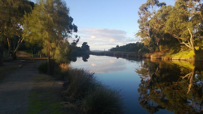 Quiet reflections on a morning walk, Lorne, Victoria, Australia
