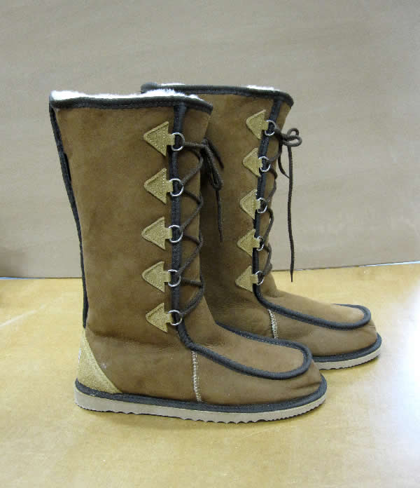 The lace-up Gaucho UGG Boot - Australian made Sheepskin Boot