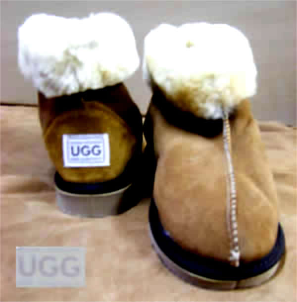 Short Sheepskin Half Boot UGG Boot, with centre seam - Australian made Sheepskin Boot