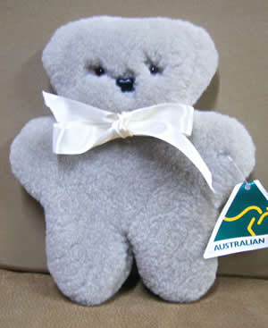 Sheepskin Flat Teddy. What a great idea!