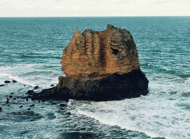 Split Point Rock, Aireys Inlet, Great Ocean Road, Victoria, Australia