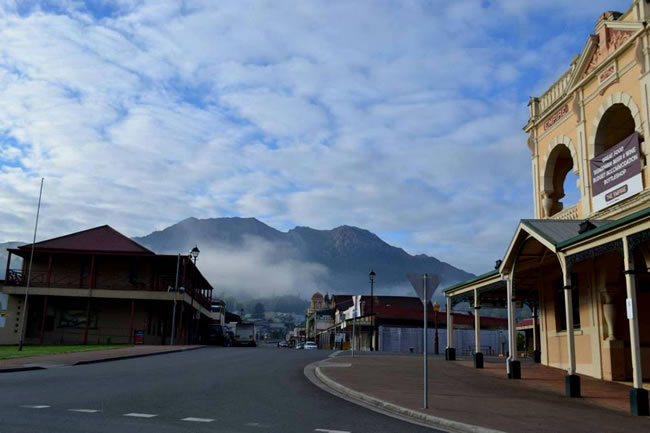 Queenstown, west coast of Tasmania, Australia