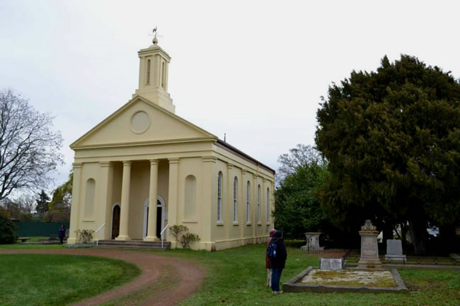 St Andrews Church, Evandale, central Tasmania, Australia