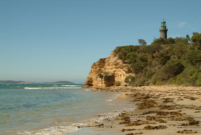 Black Lighthouse, Queenscliff, Bellarine Peninsula, Victoria, Australia