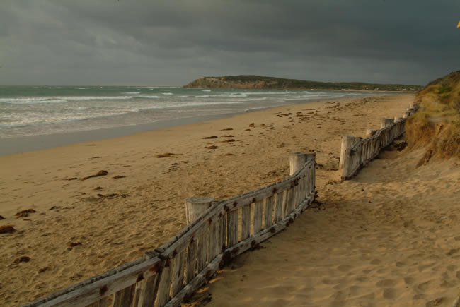 Early morning, RAAFS beach, Bellarine Peninsula, Victoria, Australia