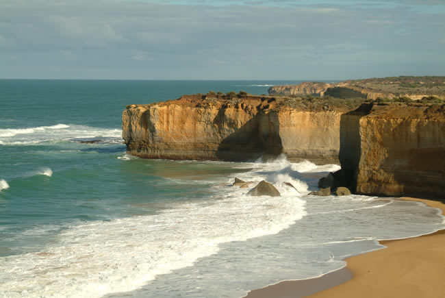 Coastline, Twelve Apostles, Great Ocean Road, Victoria, Australia