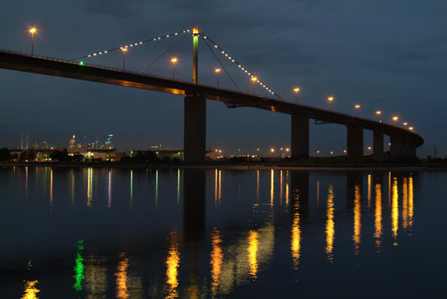 West Gate Bridge, Melbourne, Victoria, Australia