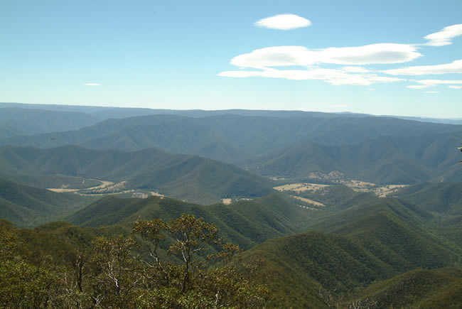 High Country Ranges, alpine Victoria, Australia