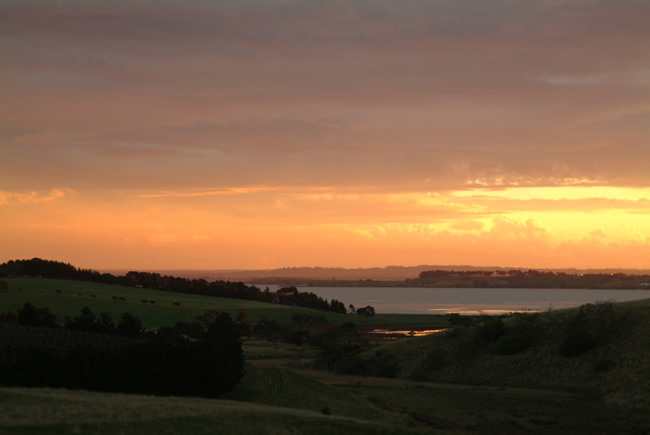 Sunset, Lake Connewarre, Bellarine Peninsula, Victoria, Australia