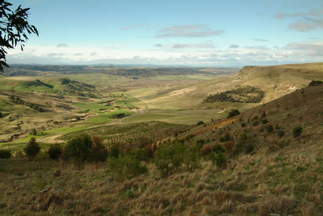Rowsley valley, near Bacchus Marsh, Victoria, Australia