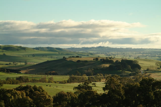 Gooch's Lane, Macedon Ranges, central Victoria, Australia