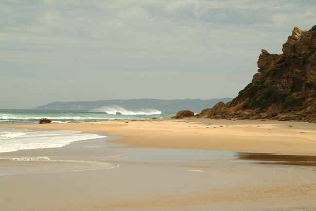 Waves, Glen Aire beach, near Cape Otway, Otways Forest, Victoria, Australia