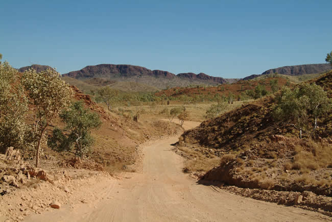 Mabel Downs Station track, Northern Territory, Australia