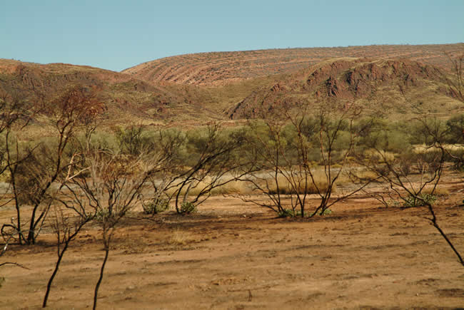 MacDonnell Ranges, West MacDonnell National Park, Northern Territory, Australia