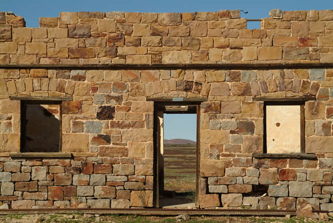 North Peake Ruins, Old Ghan Railway, South Australia