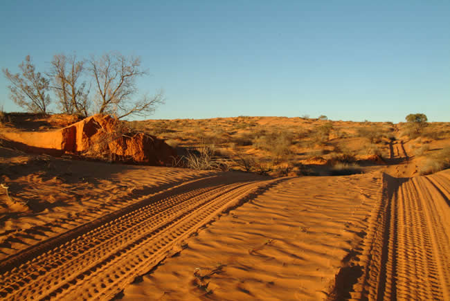 The French Line, Simpson Desert, South Australia