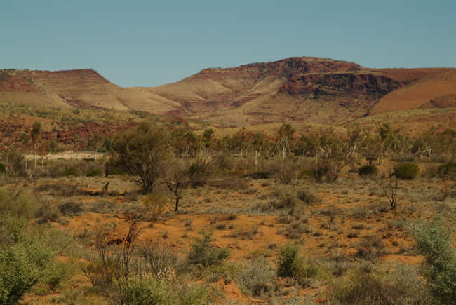 Hermannsburg, MacDonnell Ranges, Northern Territory, Australia