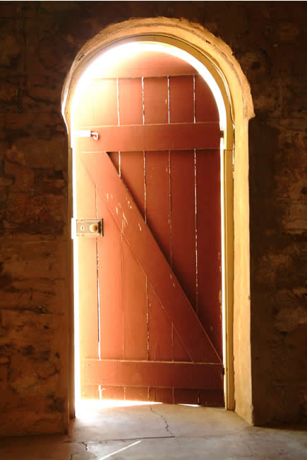 Doorway to ...? Springvale Homestead, Katherine, Northern Territory, Australia