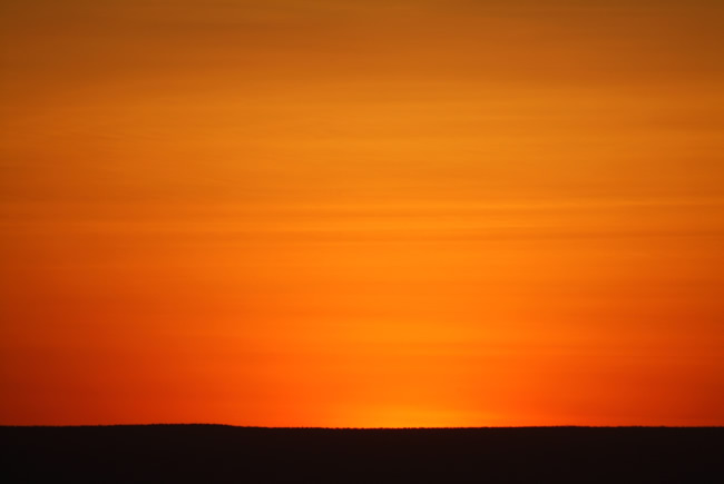 Sunset over Balgo Hills, Western Australia