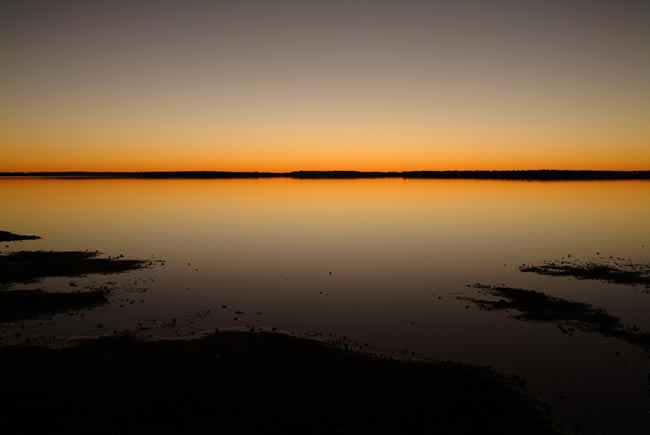 Lake Caroline, north Simpson Desert, Northern Territory, Australia