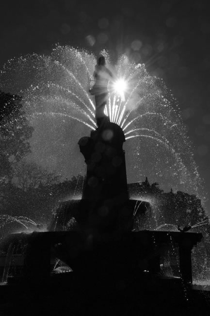 Helios Fountain, Hyde Park, Sydney, NSW, Australia