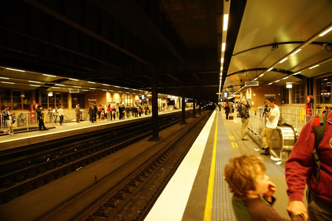 Circular Quay railway station, Sydney, New South Wales, Australia
