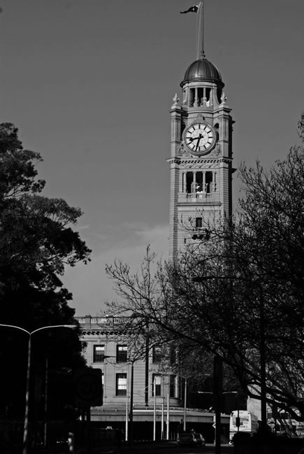 Clock tower, Sydney, New South Wales, Australia