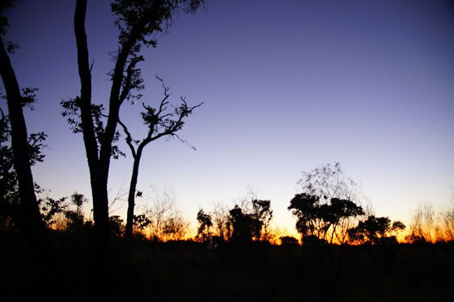 Sunrise, Three way campsite, Northern Territory, Australia
