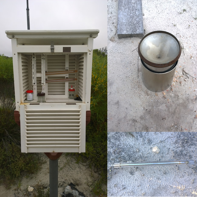 Eyre Bird Observatory - weather station, Eyre, Western Australia
