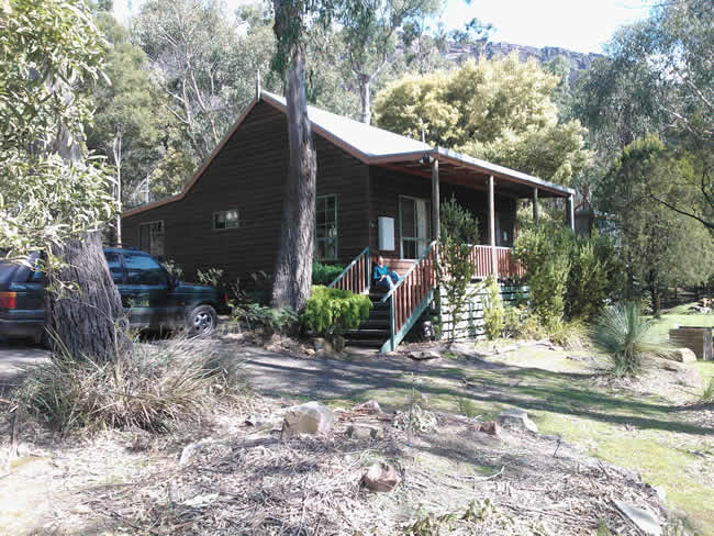 Relaxing holiday home, Halls Gap, Grampians National Park (Gariwerd), Victoria, Australia