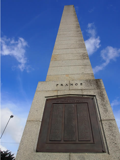 War memorial, in the main street of Terang, western Victoria, Australia