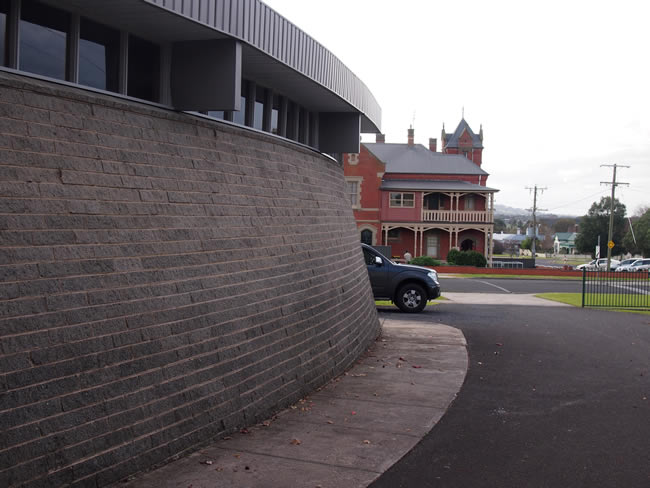 St Thomas Catholic Church and school in Terang, western Victoria, Australia